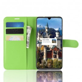 Etuis Portefeuille Huawei Mate 20 Simili Cuir Vert