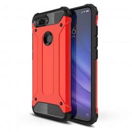 Coque Xiaomi MI 8 Lite Anti Choques Rouge