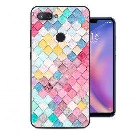 Coque Silicone Xiaomi MI 8 Lite Aquarelles