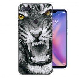 Coque Silicone Xiaomi MI 8 Lite Tigre