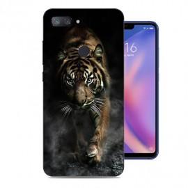 Coque Silicone Xiaomi MI 8 Lite Tigres II