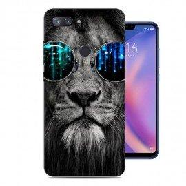 Coque Silicone Xiaomi MI 8 Lite Lion Cool