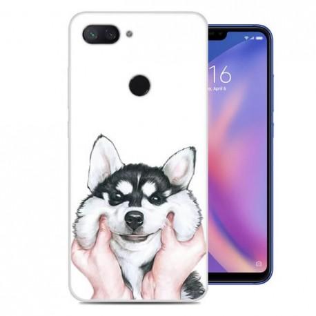 Coque Silicone Xiaomi MI 8 Lite Chien