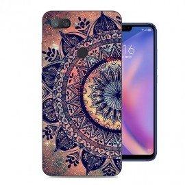 Coque Silicone Xiaomi MI 8 Lite Fleur