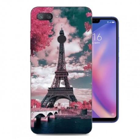 Coque Silicone Xiaomi MI 8 Lite Paris