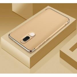Coque Huawei Mate 10 Lite Rigide Chromé Dorée