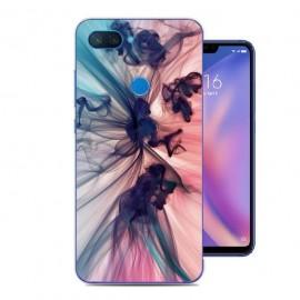 Coque Silicone Xiaomi MI 8 Lite Fumée