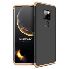 Coque 360 Huawei Mate 20 Noir et Or