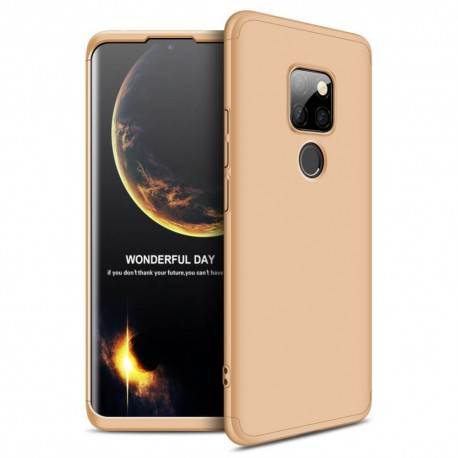 Coque 360 Huawei Mate 20 Dorée