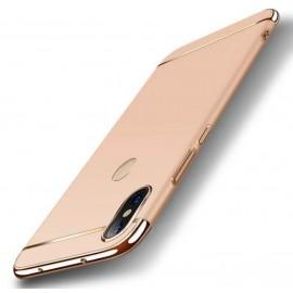 Coque Xiaomi Redmi Note 6 Pro Rigide Chromée Dorée