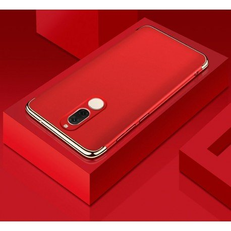 Coque Huawei Mate 10 Lite Rigide Chromé Rouge