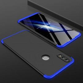 Coque 360 Honor 10 Lite Noire et Bleue