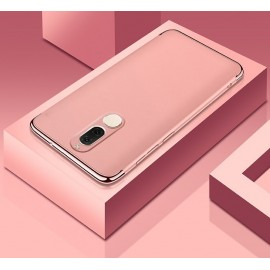 Coque Huawei Mate 10 Lite Rigide Chromé Rose