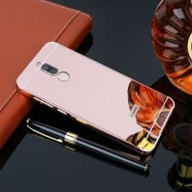 Bumper Huawei Mate 10 Lite Aluminium Mirroir Or Rose
