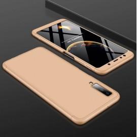 Coque 360 Samsung Galaxy A7 2018 Or