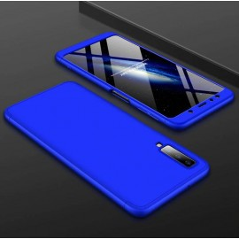 Coque 360 Samsung Galaxy A7 2018 Bleu