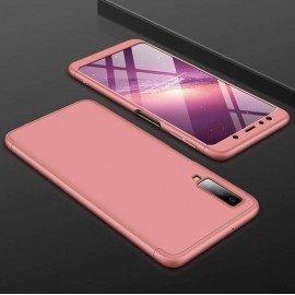 Coque 360 Samsung Galaxy A7 2018 Rose