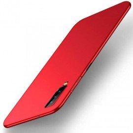Coque Silicone Samsung Galaxy A7 2018 Extra Fine Rouge