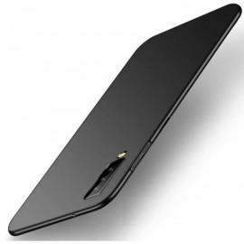 Coque Silicone Samsung Galaxy A7 2018 Extra Fine Noir