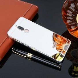 Bumper Huawei Mate 10 Lite Aluminium Mirroir Gris Argent