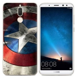 Coque Silicone Huawei Mate 10 Lite America