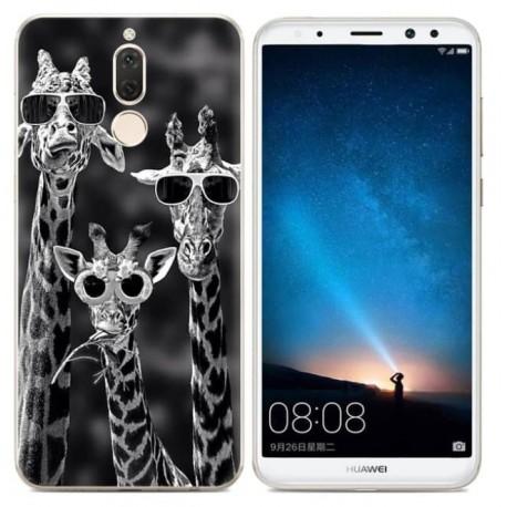 Coque Silicone Huawei Mate 10 Lite Girafes