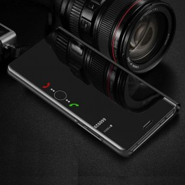 Etuis Samsung Galaxy A7 2018 Cover Translucide Noir