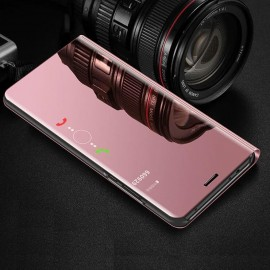 Etuis Samsung Galaxy A7 2018 Cover Translucide Rose