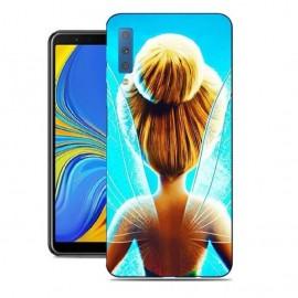 Coque Silicone Samsung Galaxy A7 2018 Féerique