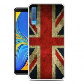 Coque Silicone Samsung Galaxy A7 2018 Banniere Uk