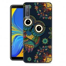 Coque Silicone Samsung Galaxy A7 2018 Chouette