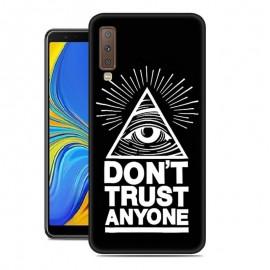 Coque Silicone Samsung Galaxy A7 2018 Confiance