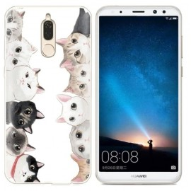 Coque Silicone Huawei Mate 10 Lite Chatons