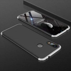 Coque 360 Xiaomi Redmi Note 7 Noir et Grise