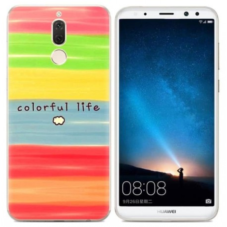 Coque Silicone Huawei Mate 10 Lite Couleurs