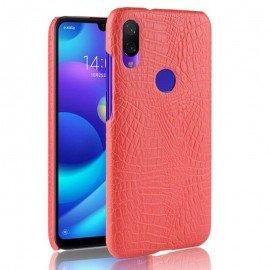 Coque Xiaomi Redmi Note 7 Croco Cuir Rouge