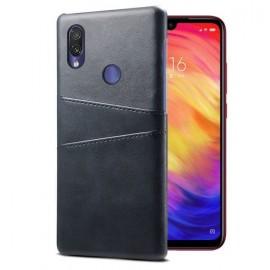Coque Xiaomi Redmi Note 7 Cuir Noire Imix