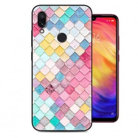 Coque Silicone Xiaomi Redmi Note 7 Aquarelles