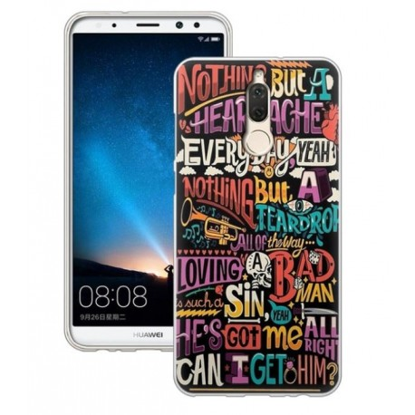 Coque Silicone Huawei Mate 10 Lite Geek