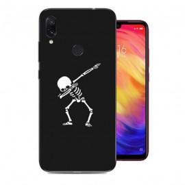 Coque Silicone Xiaomi Redmi Note 7 Squelettes