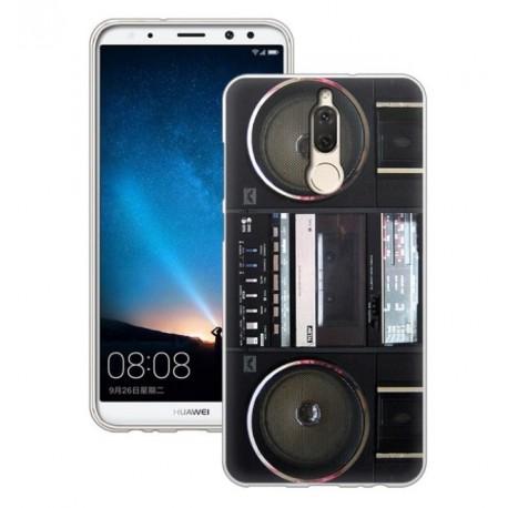 Coque Silicone Huawei Mate 10 Lite Radio Cassette
