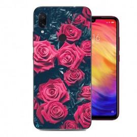 Coque Silicone Xiaomi Redmi Note 7 Roses