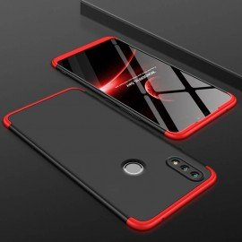 Coque 360 Huawei P Smart 2019 Rouge et Noir