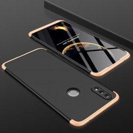 Coque 360 Huawei P Smart 2019 Or et Noir