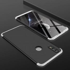 Coque 360 Huawei P Smart 2019 Argent et Noir