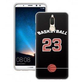 Coque Silicone Huawei Mate 10 Lite Basketball