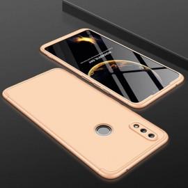 Coque 360 Huawei P Smart 2019 Dorée