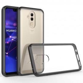 Coque Huawei Mate 20 Lite Hybrid Transparent et Noir Anae