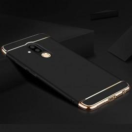 Coque Huawei Mate 20 Lite Rigide Chromée Noir