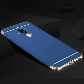 Coque Huawei Mate 20 Lite Rigide Chromée Bleue